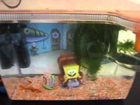 Sponge bob square pants 15 litre fish tank accessories for Spongebob fish tank