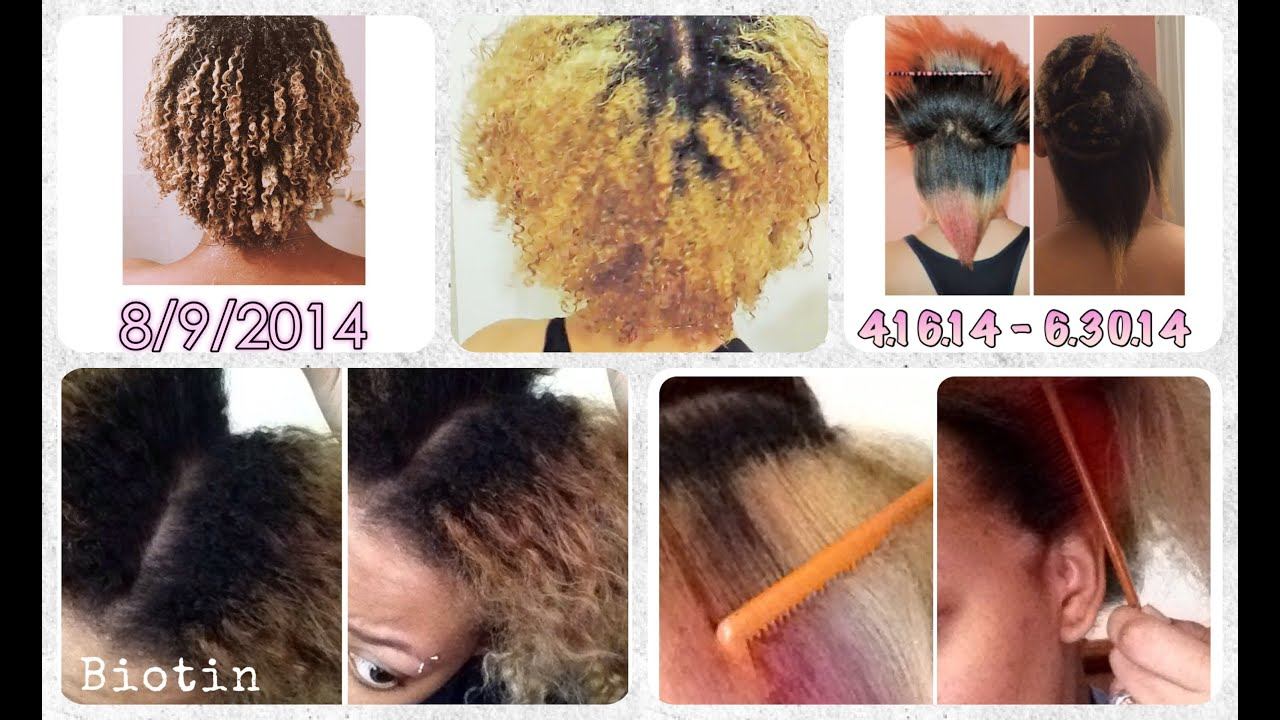 1 Year Of My Natural Hair Journey Biotin Hairfinity