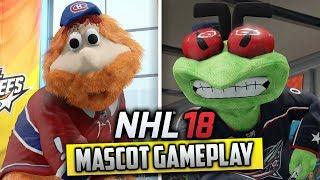 NHL 18 Threes | MASCOT GAMEPLAY
