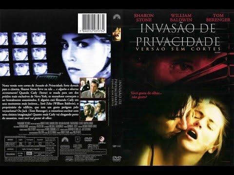 Filme Invasão De Privacidade. Dublado Sharon Stone 1993