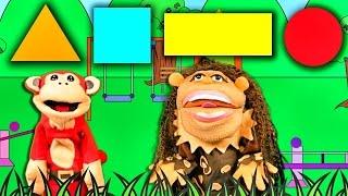La Canción de las Figuras Geométricas con El Mono Sílabo y Nícola Cavernícola