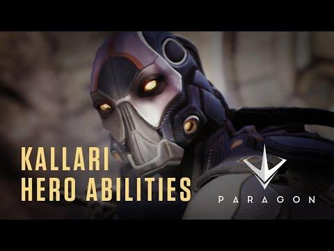 Paragon - Kallari Hero Abilities - Gameplay Video