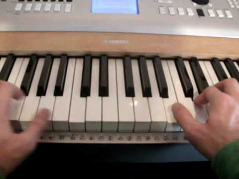 How to play Numb by Linkin Park on Piano Part 1 - Tutorial