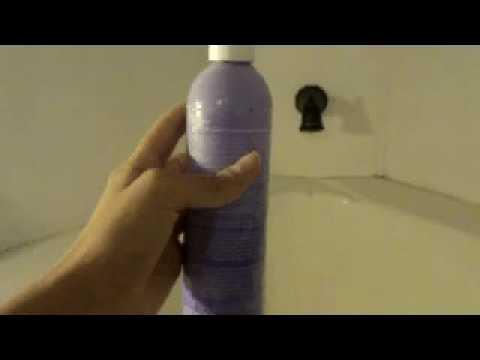 Bleach Shampoo Prank