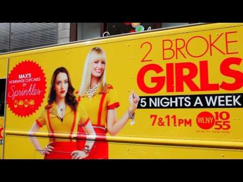 2 Broke Girls in NYC!