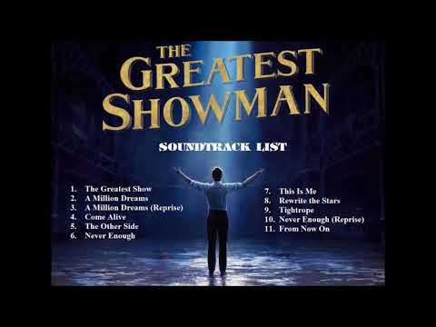The Greatest Showman Song [Official Music Audio] OST Soundtrack full