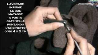 Voilà Adriafil Made in Italy - Sciarpa bicolore
