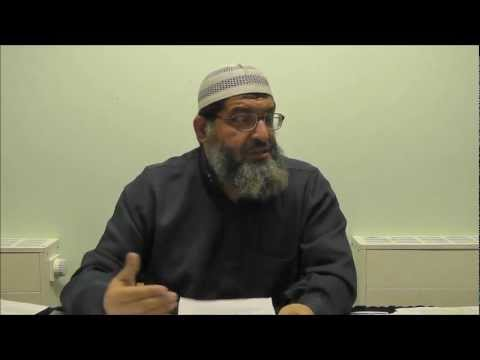 Diseases of the Hearts &amp; it's Cures - Shaykh Dr. Khalid Fikri - PART 2