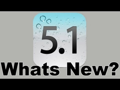 iOS 5.1 - New Features and Changes Music Videos