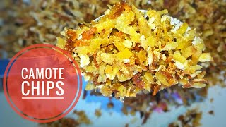 DIY Dried Camote Chips