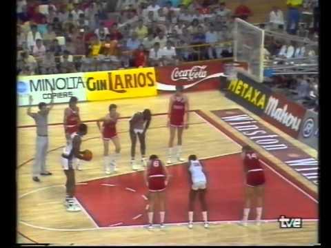 ЧМ по баскетболу 1986г. финал СССР - США