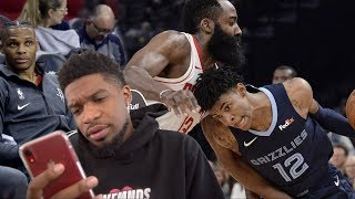 WHY IS RUSSELL SITTING OUT FOR REST?? Houston Rockets vs Memphis Grizzlies - Full Game Highlights