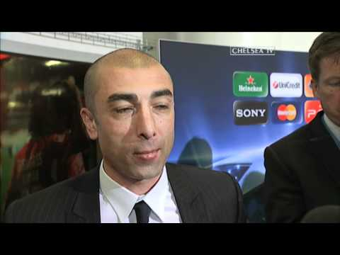 Chelsea FC - Di Matteo Post Match Reaction: Benfica