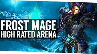 Frost Mage Cartoonz 3v3 Arena - 2400 World of Warcraft Legion PvP