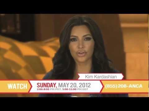 Kim Kardashian Asks YOU to Support ANCA Telethon 2012
