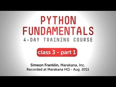 Python Fundamentals Training - Functional Programming