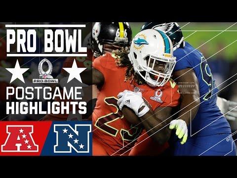 AFC vs. NFC | 2017 NFL Pro Bowl Game Highlights