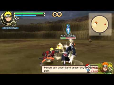 Naruto Shippuden Ultimate Ninja Impact - Naruto (sage Mode) Vs Six Paths Of Pain video