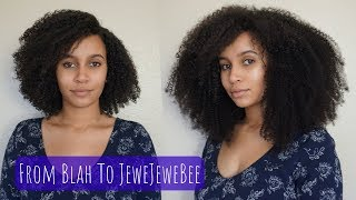 BetterLength Afro Kinky Curly Clip Ins: 3c-4a Review + Tutorial