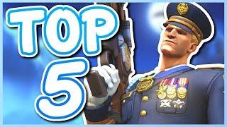 Overwatch - TOP 5 EASIEST HEROES TO PLAY IN OVERWATCH