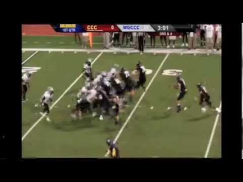 #6 WR, Donovan Smith - Week 1: Coahoma vs. Mississippi Gulf Coast Community College vs, 8/29/13