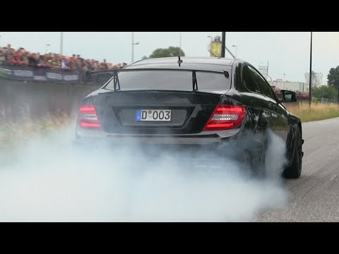 Supercars Accelerating | Cars and Coffee Twente 2017 | 900HP 335i, Aventador SV, 675LT, C63 BS...!