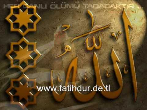 Fatih Dur-Allaha Kul olamadim ilahi YENI
