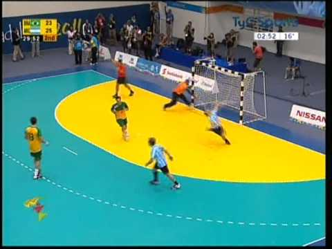 Final Juegos Panamericanos Handball | Argentina - Brasil (medalla Dorada) video