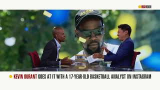 Was Kevin Durant wrong for coming at a 17-year-old on Instagram? | High Noon | ESPN
