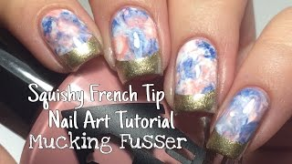 Easy Nail Art Tutorial - Squishy French Tips