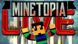 MINETOPIA LIVE!! GRATIS TOEGANG VOOR IEDEREEN!!