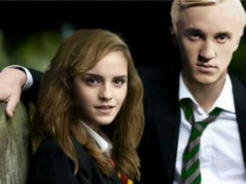Draco And Hermione Kiss The Girl Youtube
