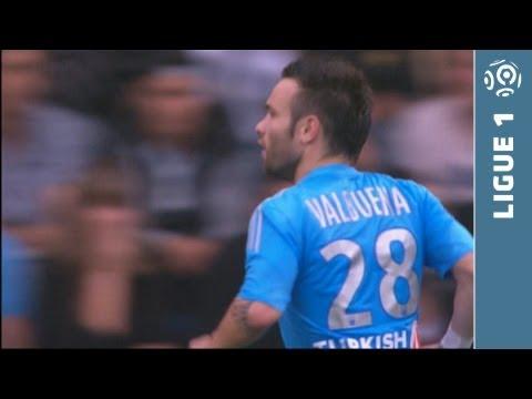 Super coup-franc Mathieu VALBUENA (58') - FC Lorient - Olympique de Marseille (0-2 - 2013/2014