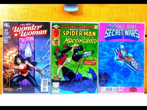 Comic Book Haul #115: HOT BOOK ALERT!