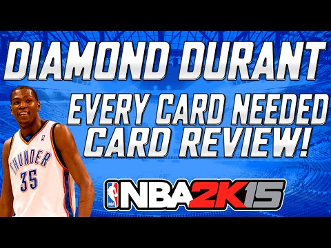 NBA 2K15 - Cards Needed For Diamond Kevin Durant | 100% Complete List | Card Review!