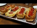 Favorite Family Foods - French Bread Pizza Boats With Your Favorite Pizza Toppings