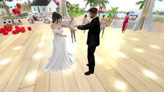 Criss & Lidia Second Life Wedding - 8.4.18