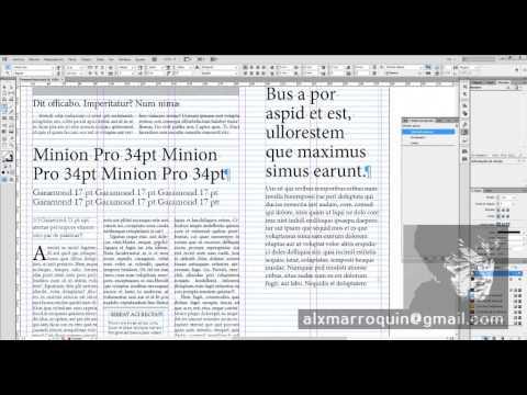 InDesign - Diseño de Periódicos - 02-Estilos de Párrafo