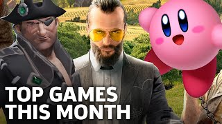 New Releases - Top Games Out This Month -- March 2018