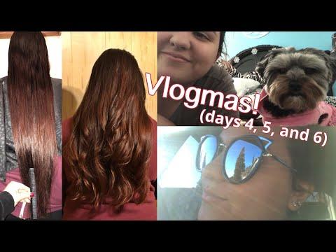 VLOGMAS: Christmas Shopping & Cutting My Sister's Hair