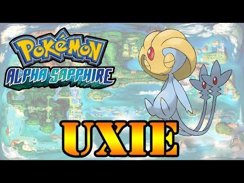 Caçando Lendários [Pokémon Alpha Sapphire] - Uxie