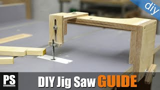 Inverted Jig Saw Guide