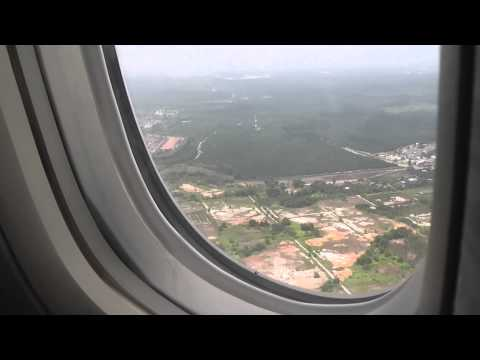 Emirates Boeing 777-300ER Landing at Kuala Lumpur