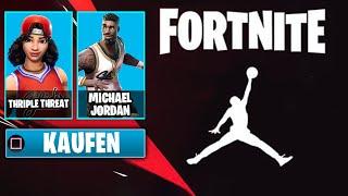 BASKETBALL SKINS kommen ZURÜCK 🏀 Neue Fortnite x Jordan Promo 🔥 NEUE Kostenlose Items
