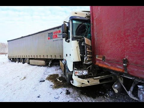 Best truck crashes, truck accident compilation 2016 Part 2