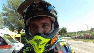 Sardegna Rally Race 2015: David Casteu, a la fin de la premiere etape