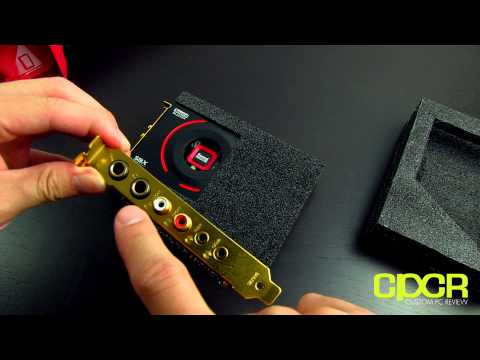 Creative Sound Blaster ZxR Unboxing