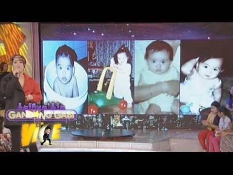 Guess who baby pictures game with Vice Ganda