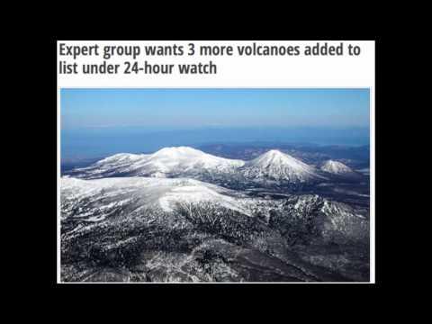 3 Volcanoes under 24-hour watch Eruption!