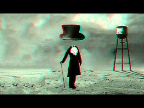 3D VIDEO ИНФЛЯЦИЯ inflation CONJURER  wizard red and blue cyan glasses